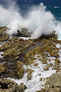 Waves at the North coast of Aruba.<br /> <br /> Noordkust van Aruba