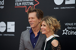 Kevin Bacon and wife Kyra Sedgwick on the red caplet at the Edinburgh International Film Festival for the World Premier of Story of a Girl, Cineworld, Thursday 22nd June 2017(c) Brian Anderson | Edinburgh Elite media