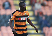 Barnet midfielder Andy Yiadom during the Sky Bet League 2 match between Barnet and Exeter City at The Hive Stadium, London, England on 31 October 2015. Photo by Bennett Dean.