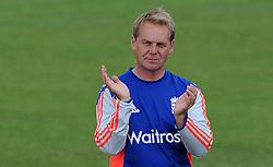 England Coach Paul Shaw - Photo mandatory by-line: Harry Trump/JMP - Mobile: 07966 386802 - 21/07/15 - SPORT - CRICKET - Women's Ashes - Royal London ODI - England Women v Australia Women - The County Ground, Taunton, England.
