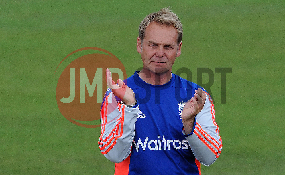 England Coach Paul Shaw - Photo mandatory by-line: Harry Trump/JMP - Mobile: 07966 386802 - 21/07/15 - SPORT - CRICKET - Women's Ashes - Royal London ODI - England Women v Australia Women - The County Ground, Taunton, England.