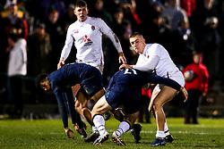 Ollie Sleightholme of England - Mandatory by-line: Robbie Stephenson/JMP - 07/02/2020 - RUGBY - Myreside - Edinburgh, Scotland - Scotland U20 v England U20 - Six Nations U20