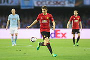 Ander Herrera Midfielder of Manchester United during the Europa League semi final game 1 match between Celta Vigo and Manchester United at Balaidos, Vigo, Spain on 4 May 2017. Photo by Phil Duncan.