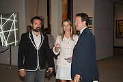 EVGENY LEBEDEV; VISCOUNTESS ROTHERMERE, Masterpiece London preview. Chelsea. London. 24 June 2015
