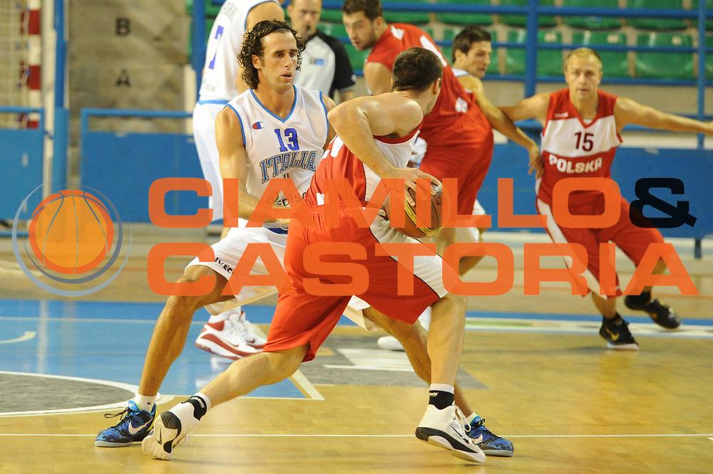 DESCRIZIONE : Cipro European Basketball Tour Italia Polonia Italy Poland<br /> GIOCATORE : Luigi Datome<br /> CATEGORIA : Difesa<br /> SQUADRA : Nazionale Italia Uomini <br /> EVENTO : European Basketball Tour <br /> GARA : Italia Polonia <br /> DATA : 07/08/2011 <br /> SPORT : Pallacanestro <br /> AUTORE : Agenzia Ciamillo-Castoria/GiulioCiamillo<br /> Galleria : Fip Nazionali 2011 <br /> Fotonotizia :  Cipro European Basketball Tour Italia Polonia Italy Poland<br /> Predefinita :