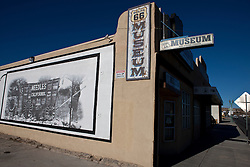 Exterior of the Route 66 Museum, Victorville, California, United States of America