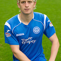 St Johnstone Photocall, Season 2010-11<br /> Liam Craig<br /> Picture by Graeme Hart.<br /> Copyright Perthshire Picture Agency<br /> Tel: 01738 623350  Mobile: 07990 594431