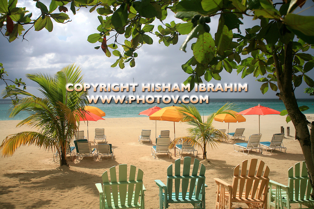 Tropical Beach, Negril, Jamaica