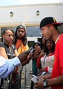 "Terrence J at the Hip-Hop Summit's ""Get Your Money Right"" Financial Empowerment International Tour draws hip-hop stars and financial experts to teach young people about financial literacy held at The Johnson C. Smith University's Brayboy Gymnasium on April 26, 2008..For the past three years, hip-hop stars have come out around the country to give back to their communities. Sharing personal stories about the mistakes they've made with their own finances along the way, and emphasizing the difference between the bling fantasy of videos and the realities of life, has helped young people learn the importance of financial responsibility while they're still young. With the recent housing market crash in the United States affecting the economy, jobs, student loans and consumer confidence, young people are eager to receive sound financial advice on how to best manage their money and navigate through this volatile economic environment.."