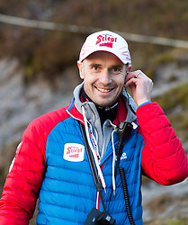 19.12.2014, Nordische Arena, Ramsau, AUT, FIS Nordische Kombination Weltcup, Skisprung, Training, im Bild Christoph Eugen, Cheftrainer Nordische Kombination (AUT) // during Ski Jumping of FIS Nordic Combined World Cup, at the Nordic Arena in Ramsau, Austria on 2014/12/19. EXPA Pictures © 2014, EXPA/ JFK