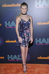 November 11, 2016 - New York, NY, USA - November 11, 2016  New York City..Loren Gray attending the 2016 Nickelodeon HALO awards at Basketball City Pier 36  South Street on November 11, 2016 in New York City. (Credit Image: © Callahan/Ace Pictures via ZUMA Press)