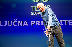 Drago Zavrsnik during Slovenian Tennis personality of the year 2017 annual awards presented by Slovene Tennis Association Tenis Slovenija, on November 29, 2017 in Siti Teater, Ljubljana, Slovenia. Photo by Vid Ponikvar / Sportida