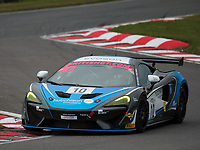 #10 Equipe Verschuur Finlay Hutchison / Daniel McKay McLaren 570S GT4 Silver during British GT Championship as part of the British GT and BRDC British F3 Championship at Oulton Park, Little Budworth, Cheshire, United Kingdom. March 31 2018. World Copyright Peter Taylor/PSP.
