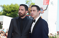 Venice, Italy, 31st August 2019, Director Pablo Larraín and Juan de Dios Larraín at the gala screening of the film Ema at the 76th Venice Film Festival, Sala Grande. Credit: Doreen Kennedy/Alamy Live News