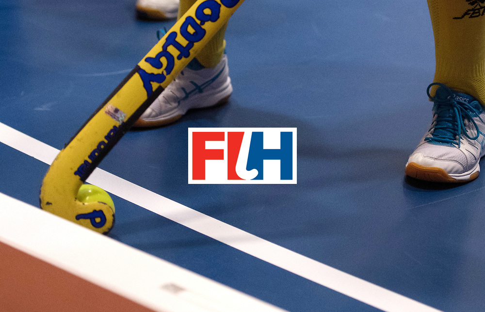 BERLIN - Indoor Hockey World Cup<br /> Poland - Kazachstan<br /> foto: <br /> WORLDSPORTPICS COPYRIGHT FRANK UIJLENBROEK