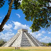 Chichen Itza # 8       El Castillo temple. Chichen Itza, Yucatan. Mexico.