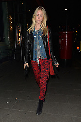 Mary Charteris attends the Kiehl's VIP dinner at Sexy Fish in Mayfair, London, UK. 15/02/2016<br />BYLINE MUST READ : GOTCHAIMAGES.COM<br /><br />Copyright by © Gotcha Images Ltd. All rights reserved.<br />Usage of this image is conditional upon the acceptance <br />of Gotcha Images Ltd, terms and conditions available at<br />www.gotchaimages.com