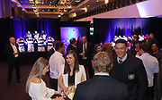 Guest mingle during the Auckland Rugby awards night held at Eden Park on the 25th of October 2017. <br /> Credit; Peter Meecham/ www.photosport.nz
