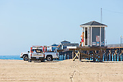 Lifeguards at Seal Beach Pier