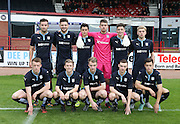 The Dundee side who beat Hibs 4-1 in the Little Big Shot Scottish FA Youth Cup at Dens<br /> <br /> <br />  - &copy; David Young - www.davidyoungphoto.co.uk - email: davidyoungphoto@gmail.com