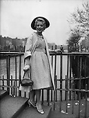 1959 - Miss May O'Callaghan, London actress in Dublin