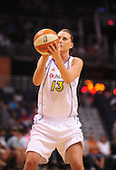 Aug 20, 2010; Phoenix, AZ, USA; Phoenix Mercury forward Penny Taylor shoots a free throw during the first half in at US Airways Center against Seattle Storm.  Mandatory Credit: Jennifer Stewart-US PRESSWIRE
