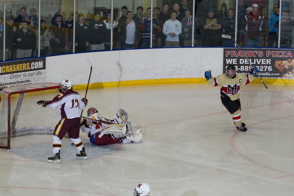 02-22-14 Ice Hockey: Haas Cup - Mt Olive v Madison