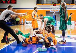 Referee Sasa Pukl during 2nd Leg basketball match between KK Helios Suns and KK Zlatorog Lasko in Final of Nova KBM Champions League  2015/16, on May 31, 2016 in Hala Komunalnega centra, Domzale, Slovenia Photo by Vid Ponikvar / Sportida