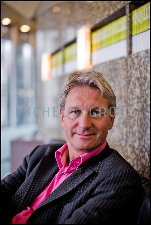 Groen Links kamerlid Wijnand Duyvendak neemt afscheid van de Tweede Kamer in Den Haag, The Netherlands on September  02, 2008. (photo by Michel de Groot)