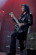 Tony Iommi images from Heaven & Hell's live perormance at WaMu Theatre, MSG in New York.