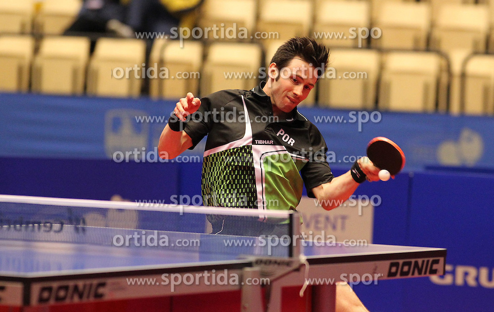 20.10.2012, MGH Arena, Herning, DEN, ETTU, Tischtennis Europameisterschaft, im Bild Joao MONTEIRO (POR) bei der Ballannahme // during the Table Tennis European Championships at the MGH Arena, Herning, Denmark on 2012/10/20. EXPA Pictures © 2012, PhotoCredit: EXPA/ Eibner/  Wuest..*****ATTENTION - OUT OF GER *****