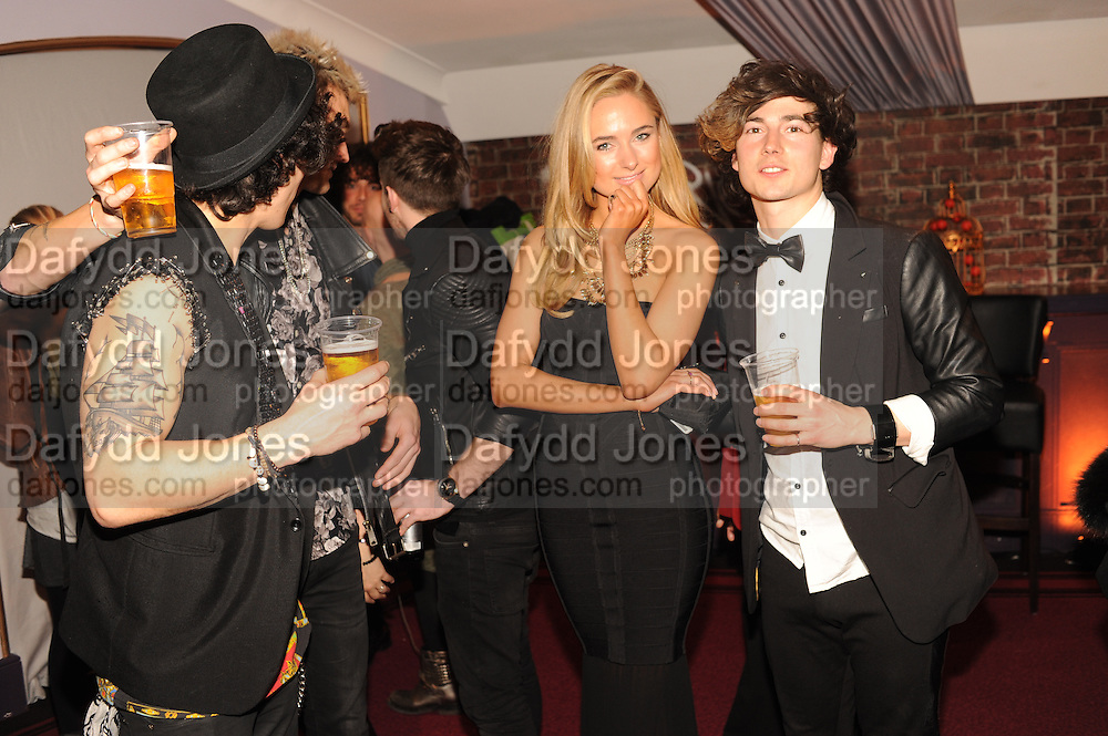 KIMBERLEY GARNER WITH FUTURE KICKS, The VIP night for Cirque Du Soleil: Quidam at  the Royal Albert Hall, London. 7 January 2013