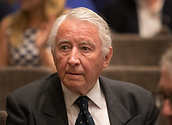 © Licensed to London News Pictures. 20/07/2017. London, UK. Former Liberal party leader Lord David Steel attends the  announcement of the new Liberal Democrat party leader Sir Vince Cable. Tim Farron stepped down after the general election.  Photo credit: Peter Macdiarmid/LNP