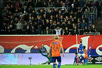 Fotball, Eliteserien <br /> 15.10.17 , 20171015<br /> Vålerenga - Aalesund <br /> Aalesunds Edwin Oppong Anane-Gyasi reduserer til 2-1 <br /> Foto: Sjur Stølen / Digitalsport