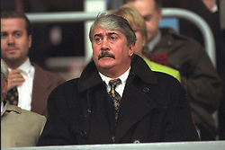 LIVERPOOL, ENGLAND - MAY 1996: Liverpool's Chairman David Moores watches his side beat West Ham United 2-1 during the FA Youth Cup Final 2nd Leg at Anfield. (Pic by David Rawcliffe/Propaganda)