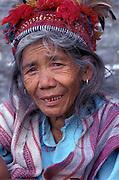 Ifugao tribeswoman, Banaue, Luzon Island, Philippines