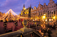 BEL, Belgium, Brussels, the Grand Place at Christmas time...BEL, Belgien, Bruessel, der Grand Place zur Weihnachtszeit.....