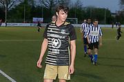 2019, April 17. IJFC, IJsselstein, The Netherlands. Niek Roozen at Creators FC - IJFC Legends.