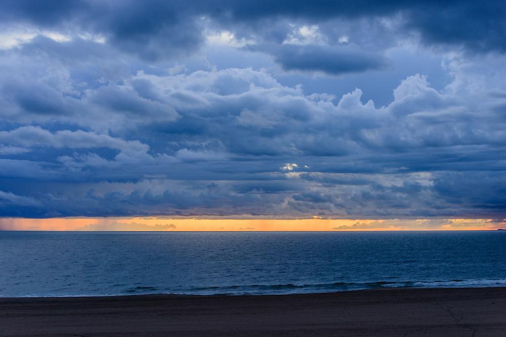 Sunset, Dockweiler RV Park, Playa del Rey, CA