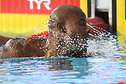 Mehdy Metella (FRA) competes on Men's 100 m Freestyle during the Swimming European Championships Glasgow 2018, at Tollcross International Swimming Centre, in Glasgow, Great Britain, Day 3, on August 4, 2018 - Photo Stephane Kempinaire / KMSP / ProSportsImages / DPPI