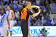 DESCRIZIONE : Campionato 2013/14 Dinamo Banco di Sardegna Sassari - Enel Brindisi<br /> GIOCATORE : Alessandro Martolini<br /> CATEGORIA : Arbitro Referee Mani Tecnico<br /> SQUADRA : AIAP<br /> EVENTO : LegaBasket Serie A Beko 2013/2014<br /> GARA : Dinamo Banco di Sardegna Sassari - Enel Brindisi<br /> DATA : 11/05/2014<br /> SPORT : Pallacanestro <br /> AUTORE : Agenzia Ciamillo-Castoria / Luigi Canu<br /> Galleria : LegaBasket Serie A Beko 2013/2014<br /> Fotonotizia : Campionato 2013/14 Dinamo Banco di Sardegna Sassari - Enel Brindisi<br /> Predefinita :