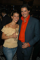 EDWARD TAYLOR and  at a party hosted by Frankie Dettori, Marco Pierre White and Edward Taylor to celebrate the launch of Frankie's Italian Bar & Grill at 3 Yeoman's Row, London SW3 on 2nd September 2004.