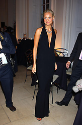 MISS KALITA ALSWAIDI at a evening to celebrate the unveiling of the British Luxury Club at The Orangery, Kensington Palace, London W8 on 16th September 2004.<br />