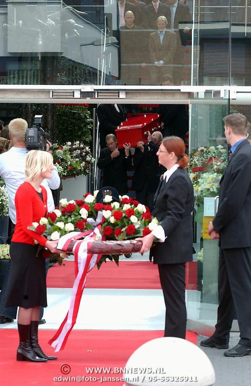 Begrafenis Bart de Graaff,