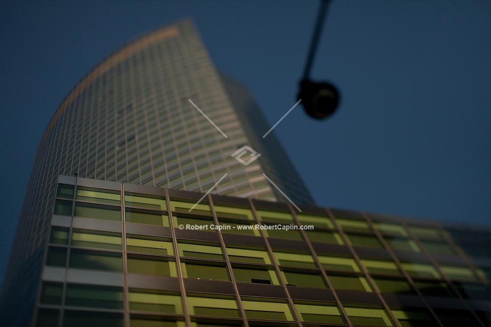 Goldman Sachs Manhattan offices at 200 West Street in New York. ..Photo by Robert Caplin.