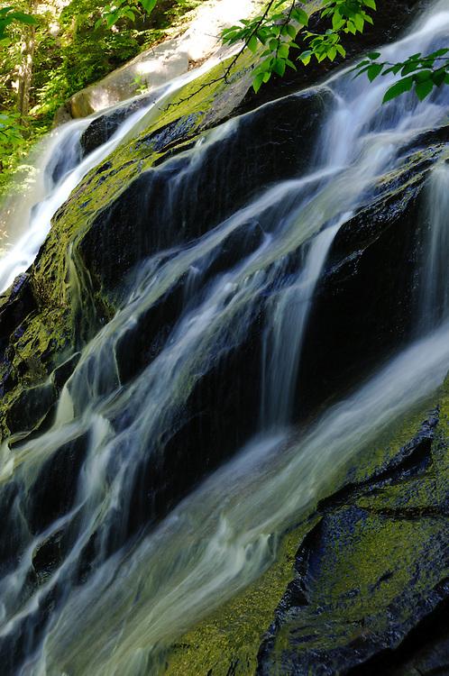 Death Falls (Secret Falls) in Raquette Lake, Adirondacks