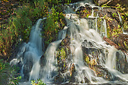 Waterfalls on Crow Lake (Kakagi Lake)<br />
