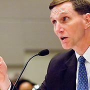 "John Pistole, Deputy Director of the FBI. Panel: ""Outline of the 9/11 Plot."" The 9/11 Commission's 12th public hearing on ""The 9/11 Plot"" and ""National Crisis Management"" was held June 16-17, 2004, in Washington, DC."