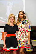 Alesha Dixon (with Nicky Cox, editor of First News) launches Children United and the &ldquo;We Are The Children United&rdquo; single. Alesha is the most well-known name on the single, the first voice you hear on the song is that of 12-year-old Patience who lives in a children&rsquo;s home in Uganda after losing most of her family to AIDS. The pair are joined by thousands more children from countries as far flung as Kenya, Australia, India, USA, Uganda, The Netherlands and Norway who all feature on the Children United single. More countries and more children are joining the &ldquo;world&rsquo;s biggest pop group&rdquo; every day and posting their recordings on YouTube. The song was written by Barney Cox and produced by Nigel Wright.<br /> Around 10,000 children&rsquo;s voices are on the song including 6,500 children from the Voice In A Million choir<br /> who performed the song live at Wembley with Alesha in March.<br /> <br /> Children United is an online platform which will bring children together from across the globe to discuss the issues that matter to them, and provide them with the opportunity to have their voices heard. The three founding partner organisations are First News, Achievement for All, and Skoolbo. They have been working with Microsoft to support the web development and integration of Skype technology that will connect children across the world in face-to-face conversations. Save the Children are the charity&rsquo;s key NGO partner.<br /> <br /> The Children United website, which encourages children around the world to &ldquo;join-up&rdquo; and be heard, opens for<br /> registration on Wednesday (15 April) and goes fully live and interactive in September. The site will be moderated<br /> by schools around the world to ensure a secure environment for children to talk to each other safely.
