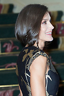 Queen Letizia of Spain attended the 'Francisco Cerecedo' journalism award to Javier Cercas at Palace Hotel on November 28, 2019 in Madrid, Spain